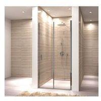 OPTIMA Drzwi prysznicowe składane 70x190, szkło transparentne + powłoka Easy Clean, rea_optima_70