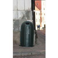 Kosz uliczny żeliwny Praga 75 l