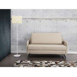 Sofa beżowa - kanapa - sofa do spania - rozkladana - BELFAST z kategorii Sofy