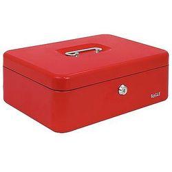Kasetka na pieniądze EAGLE 8878S czerwona 77x157x207mm