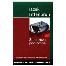 Jacek Tittenbrum. Z deszczu pod rynnę. Meandry polskiej prywatyzacji. Tom 4., rok wydania (2008)