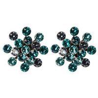 Konplott MAGIC FIREBALL Kolczyki blue/green antique/silvercoloured (5450543301556)