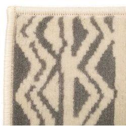 Vidaxl Nowoczesny dywan we wzór tradycyjny, 140x200 cm, beżowo-szary