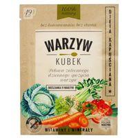 WARZYW KUBEK 17g Mieszanka 11 warzyw Koktajl warzywny do samodzielnego przygotowania