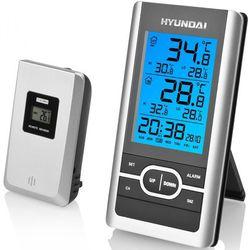 stacja pogodowa ws1070, srebrna marki Hyundai