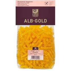 Makaron kukurydziano-ryżowy FUSSILI BIO 250 - ALB GOLD, towar z kategorii: Kasze, makarony, ryże