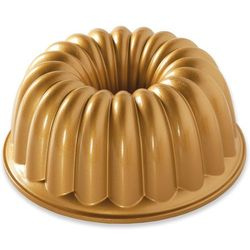 Nordic ware Forma do babki elegant party złota (58677)