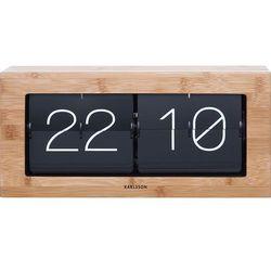 Zegar Boxed Flip bambusowy 37 cm (8714302611865)
