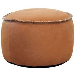 Sackit Pufa retroit dunes drum 35x50 koniak skóra
