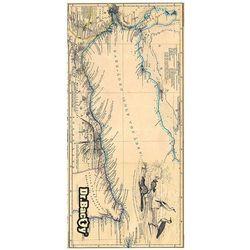 l szybkoschnący ręcznik treningowy 60x130 cm / mapa - mapa marki Dr.bacty