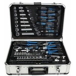 walizka aluminiowa z narzędziami tb 150, 101 części marki Scheppach