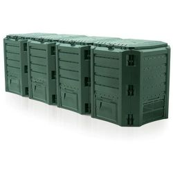 Kompostownik segmentowy module compogreen 1600l zielony - transport gratis! marki Prosperplast