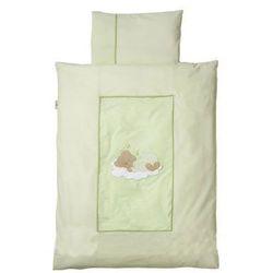 Easy Baby Pościel 80x80cm Sleeping Bear kolor zielony (415-84), kup u jednego z partnerów