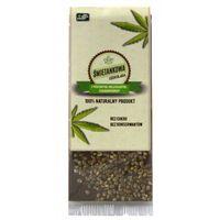 Czekolada śmietankowa z prażonymi nasionami konopi bez cukru 50 g, 87EA-867B3