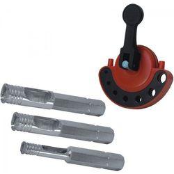 Zestaw wierteł do gresu DEDRA DED1568 (3 elementy) - produkt z kategorii- Pozostałe narzędzia elektryczne