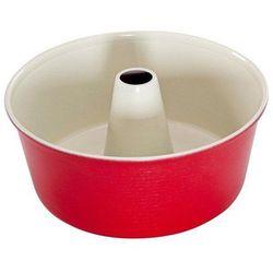 Forma do babki z kominem czerwona marki Nordic ware
