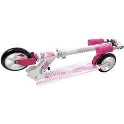 Hulajnoga składana aspect 145mm - biały/różowy od producenta Axer sport