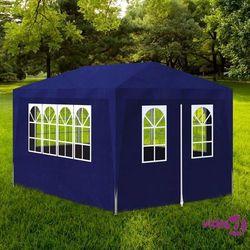 namiot imprezowy, 3 x 4 m, niebieski marki Vidaxl