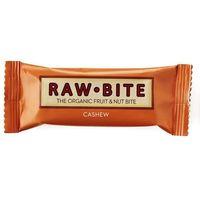 Raw bite Baton o smaku nerkowców i daktyli bio 50g raw