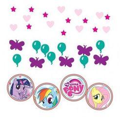 Konfetti urodzinowe my little pony - 34 g. marki Amscan