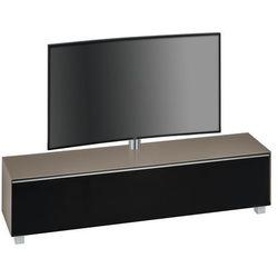 Maja-möbel Stolik tv soundconcept 180 cm z uchwytem piaskowy/czarny 77402373