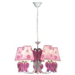 Kaja K-md8069-5e lampa wisząca dziecięca motyl 5x40w e14