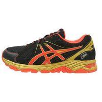 ASICS GELSTORMPLAY GTX Obuwie do biegania Szlak black/flame orange/key lime z kategorii Buty sportowe dla dzie