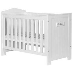 Pinio meble Marsylia łóżeczko dziecięce 120x60 - biały