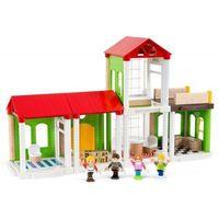 33941 kolejka drewniana: dom marki Brio