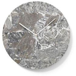 Zegar ścienny Marble szary
