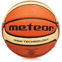 Piłka koszowa Meteor Treningowa brązowo-kremowa 5, 07030
