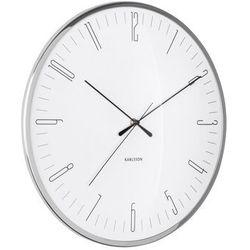 Zegar ścienny Karlsson Dragonfly biały, kolor biały