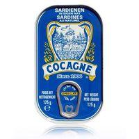 Sardynki portugalskie w sosie własnym 125g  marki Cocagne