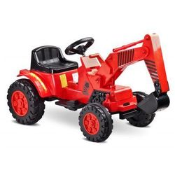 Caretero Toyz Digger pojazd na akumulator red