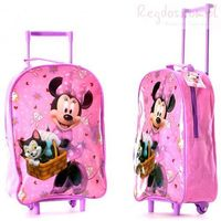 Plecak Myszka Mini walizka na kółkach Minnie Mouse, kup u jednego z partnerów