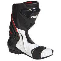 Rebelhorn  rival-bot buty czarno-białe perforowane