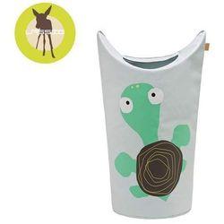 casual label - kosz na zabawki lub pranie wildlife żółw marki Lassig