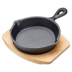 Patelnia żeliwna do serwowania okrągła Kitchen Craft Artesa 15 cm