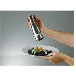 Stoha Młynek elektryczny do soli lub pieprzu inox 55513