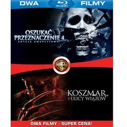 Bd 2 pack koszmar z ulicy wiązów/oszukać przeznaczenie 4 (2bd) - produkt z kategorii- Horrory