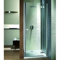 Radaway  almatea dwj drzwi prysznicowe wnękowe jednoczęściowe uchylne 110x195 cm 31312-01-01n prawe
