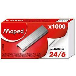 Zszywki Maped 24/6 1000szt pudełko MOCNE 24H, kup u jednego z partnerów