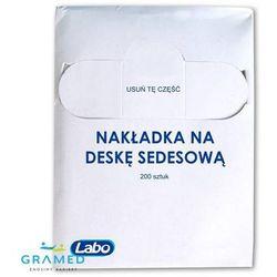 Higieniczne nakładki na deskę sedesową do podajnika (zapas 200szt ) z kategorii Pieluchomajtki