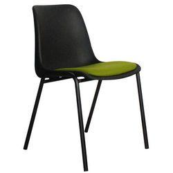 Zuiver Krzesło BACK TO GYM czarny/zielony 06 1008084