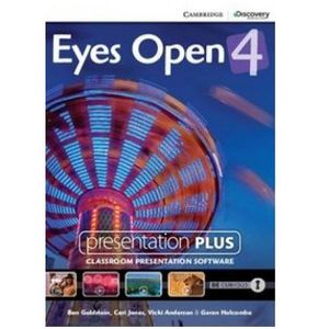 Eyes Open 4 Presentation Plus DVD