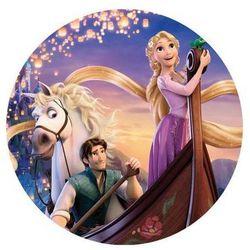 Dekoracyjny opłatek tortowy princess - księżniczki - 20 cm - 10 marki Modew
