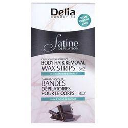 Delia Cosmetics Satine Depilation Chocolate Fragrance plastry do depilacji woskiem do ciała - sprawdź w wybr