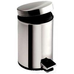 SIMPLE Kosz na śmieci, 20 litrów, okrągły 27120 - produkt z kategorii- Pozostałe akcesoria łazienkowe