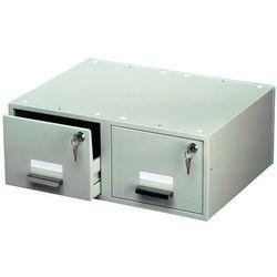 Kasetka na kartoteki Durable Cardbox A5 Duo szara 3354-10, 82714