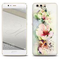 Fantastic Case - Huawei P10 Plus - etui na telefon Fantastic Case - róże herbaciane